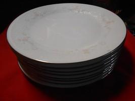 "RARE Beautiful NORITAKE Dinnerware ""Templeton"" 8 BREAD  Plates...6.25"" d... - $23.43"