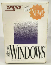 "VTG Spring Microsoft Windows Version 3.1 Operating System 5.25"" Floppy D... - $23.05"