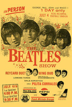 The Beatles Poster 1966 Philippines Tour - Ships FREE - $12.00