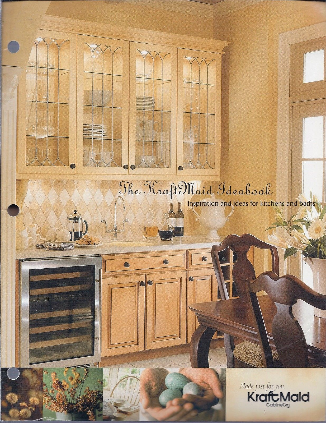 Primary image for The Kraft Maid Ideabook 4/2003-Inspiration & Ideas for Kitchens And Baths