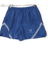 Air Force Swim Trucks Athletic Shorts with Liner Men Size L Blue Reflect... - $14.84