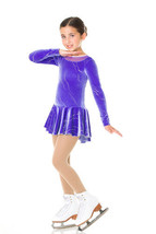 Mondor Model 2999 Girls Skating Dress - Safran Purple - Size Ad Small - $65.44