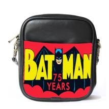Sling Bag Leather Shoulder Bag Batman Logo In Cute Funny Design Justice League C - $14.00