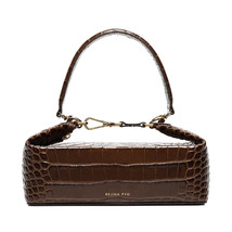 Rejina pyo olivia brown clutch bag 1 thumb200