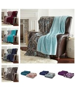 "2 Pack of Oversized Throws 60"" x 70"" - Super Soft - $29.99"