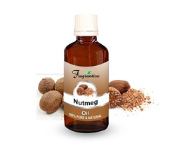 Fragrantica Nutmeg Oil 100% Undiluted Natural Pure Uncut Essential Oil 30 Ml - $18.15