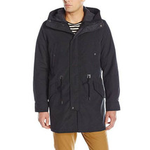 Cole Haan Men's Insulated Anorak with Quilted Removable Liner, Black, Me... - $163.35