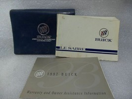 Buick Lesabre 1997 Owners Manual w/ Case 14749 - $13.85