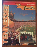 1987 Tennessee VOLS vs Mississippi  Sports Guide Game Day Homecoming 1987 - $99.99