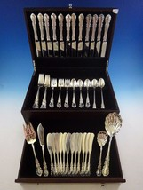 Georgian Rose by Reed & Barton Sterling Silver Dinner 12 Flatware Set 76 Pieces - $4,995.00