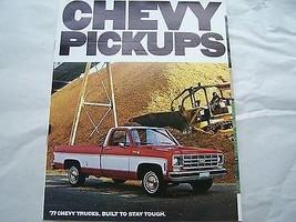 1977 chevy pickup truck owners sales brochure in spanish original - $24.99