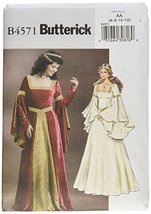 Butterick Patterns B4571 Misses' Costume, Size AA (6-8-10-12) - $14.70