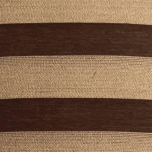 Pillow Decor - Brackendale Stripes Brown Rectangular Throw Pillow 16x24