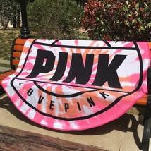 beach towel 160cm pink microfiber towel for adults bathroom sport travel - $27.53