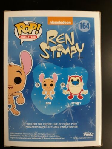 FUNKO POP! ANIMATION: REN & STIMPY - REN #164