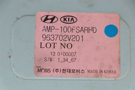 Hyundai Veloster Radio Amplifier Amp 963702V201 image 5