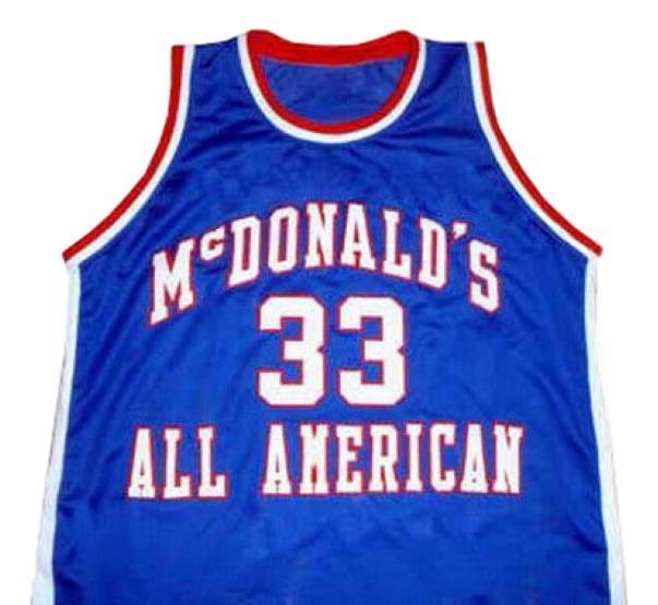 Chris webber mcdonald all american jersey mcdonald s blue   1