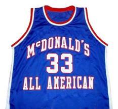 Chris Webber McDonald's All American Basketball Jersey Sewn Blue Any Size - $34.99