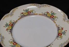 """vtg johnson brothers langhorn pareek 10"""" dinner plates set of 4 england floral - $67.72"""