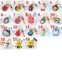 wholesale 50PCS/lot mini Cute Cartoon Keychain Bag Pendant key ring ,tel... - $22.09