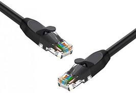 Cat 6 Ethernet Cable 3 Ft 5 Pack Black, Pro Elechain Internet Network Ca... - $22.88