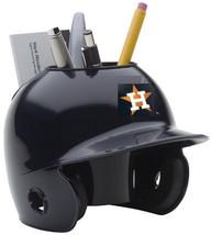 Houston Astros MLB Baseball Schutt Mini Batting Helmet Desk Caddy - $19.95