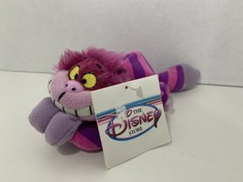 The Disney Store small Cheshire Cat vintage beanbag plush Alice in Wonde... - $9.89
