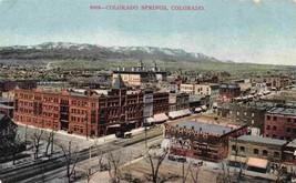 Panorama Colorado Springs CO 1910c postcard - $5.89