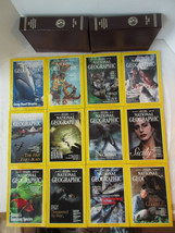 1995 National Geographic Magazines Complete Year, Slip Covers and Maps L... - $7.69