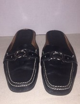 Cole Haan Nike Air Black Leather Loafer Sz 8AA Narrow - $27.55