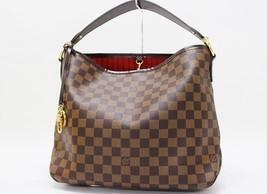 """AUTHENTIC LOUIS VUITTON Damier """"Delightful PM"""" Shoulder Bag Ebene N41459 - $1,300.00"""