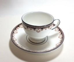 Wedgwood Medici Tea Cup & Saucer Set s R4588  - $9.88