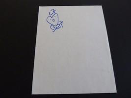 L7 Suzi Gardner Signed Autographed 8.5x11 Paper PSA or Beckett Guaranteed - $24.99