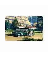 Yosemite National Park Gas Stan Stokes Metal Sign - $29.95