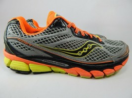 Saucony Ride 7 Size US 10 M (D) EU 44 Men's Running Shoes Gray ViziGlo S20255-1