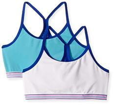 Hanes Big Girls' Comfort Flex Fit Seamless Thin Strap Racerback 2-Pack, ... - $14.10 CAD