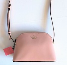 Kate Spade Peggy Small Dome Crossbody ~ Rosy Cheeks Pink Patterson Drive... - $94.95
