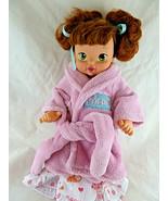"2004 Disney Playmates Doll Beauty & The Beast Belle Baby 12"" all Vinyl w... - $18.80"