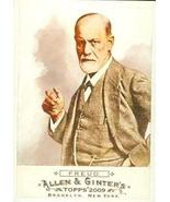 Sigmund Freud trading card (Psychiatrist) 2009 Topps Allen & Ginters Cha... - $3.00