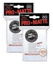 Ultra Pro PRO-MATTE 100 Count White Deck Protector Sleeves - Magic the G... - $8.93