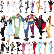 Adult Anime unisex cosplay costume Kigurumi Pyjamas Onesie Sleepwear  Dress - $23.99