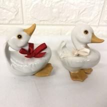 (2) Homco Little Duck Figurines #1414 - $12.82