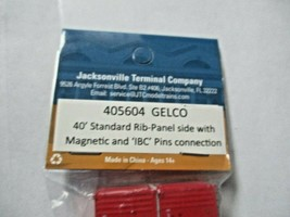 Jacksonville Terminal Company # 405604 GELCO 40' Standard Container N-Scale image 2