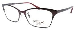 COACH HC5041 9141 Terri Women's Eyeglasses Frames 53-15-140 Satin Brown ... - $59.30