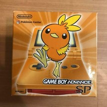 Nintendo Game Boy Advance SP Achamo Orange Pokemon Limited Edition Front... - $1,088.01