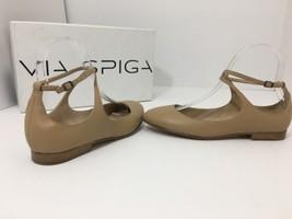 Via Spiga / Yovela / Nude Leather Women's Flats Sandals Size 36 US 6 M - $62.57