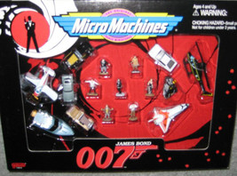 James Bond 007 Micro Machines Collector set New Sealed - $140.25