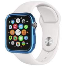 Watches 40Mm Tpu Case For Apple Watch Iwatch 4 Generation Transparent Blue- Sky  - $30.24