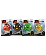 Angry Birds Vinyl Figures Lot of 4 Leonard, Chuck, Bomb and Red New Coll... - $13.85