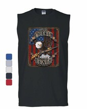 Give Me Liberty or Give Me Death Muscle Shirt Eagle Defend Freedom 2A Sl... - $10.84+